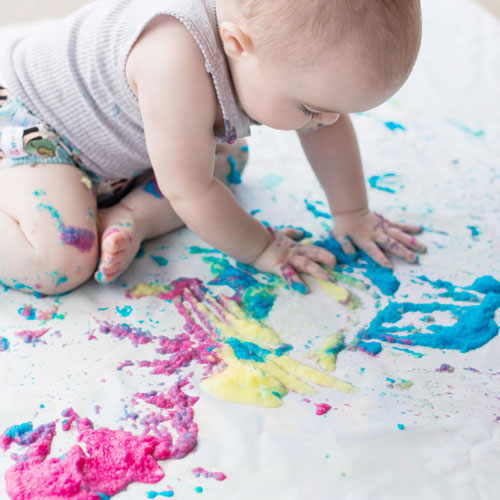 Edible Paint For Sensory Play